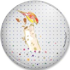 Grand miroir Oiseau étoiles EXCLU WEB (en soldes prix départ 9€)