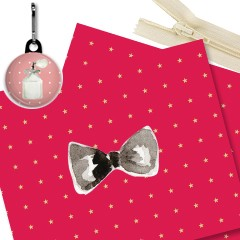 Kit trousse rose chic
