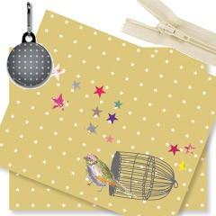 Kit trousse oiseau or (prix mini, prix départ 22€)