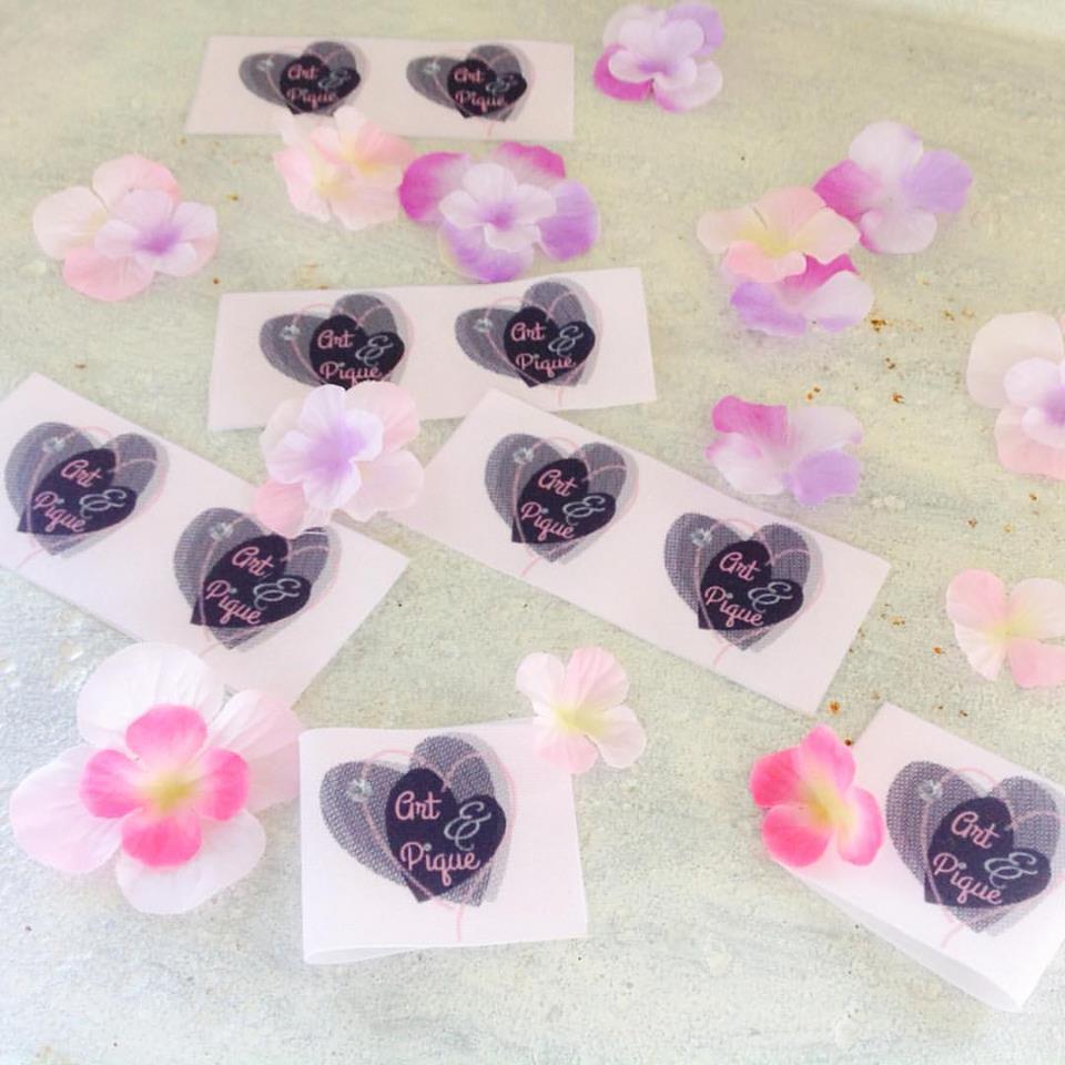 etiquettes en tissu personnalisees corailindigo