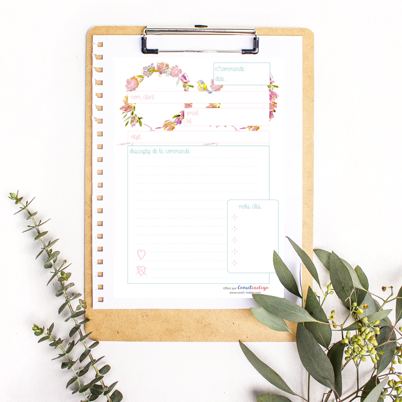 organiser-commandes-free-printable