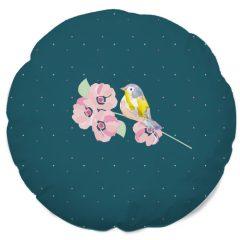 Coussin fleurs de cerisier